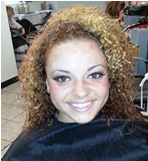 Aleesh before pic 2 of her new Hair Salon Los Angeles Look by Next Salon picture