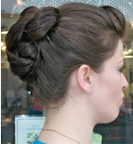 prom hair style in Santa Monica, CA at Next Salon, 310-392-6645 picture