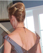 updo hair Prom style in Santa Monica, CA at Next Salon, 310-392-6645