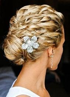 Wedding hairstyles in Santa Monica, CA picture
